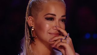WOW! His Performance made Rita Ora Emotional!