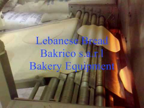 Pita Bread Machine 2 & 4 Rows-Bakrico Bakery Equipment Lebanon.wmv