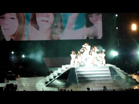 110911 SNSD Genie Opening in taiwan HD Girls' Generation 소녀시대 少女時代