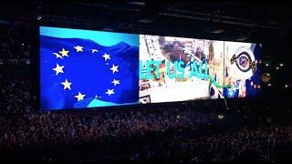 U2 Forum Assago 2018 inizio concerto Live from Milan