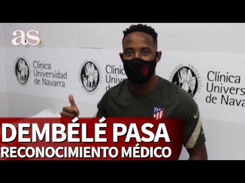 Dembélé pasó el reconocimiento médico con el Atlético de Madrid | Diario As