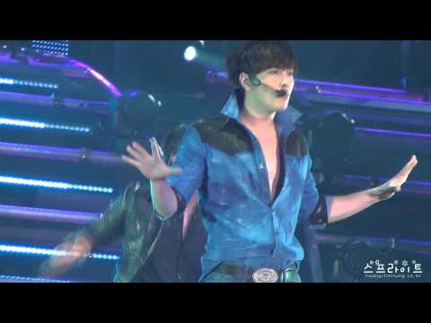 [FANCAM] 'REPUBLIC OF 2PM' ARENA TOUR 2011 - I'll Be Back JP Ver (Chan focused)