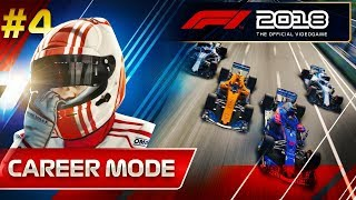 F1 2018 Career Mode Part 4: I NEVER THOUGHT THIS WOULD HAPPEN