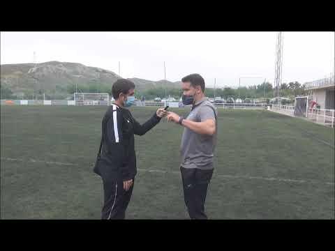RUBÉN ZAPATER (Entrenador Utebo) CD Cuarte 2-2 CF Utebo / Semifinal Play Off de Ascenso 2ª B
