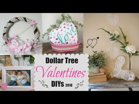 DOLLAR TREE VALENTINES DAY DIYs | EASY DECOR IDEAS | Momma from scratch