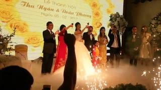 Toàn cảnh Đám cưới hoa hậu Thu  Ngân tại gia viên hải phòng