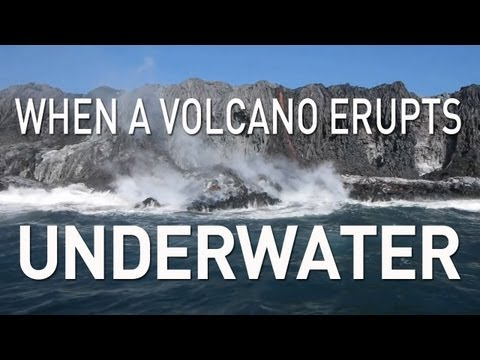 When a Volcano Erupts Underwater | UnderH2O | PBS Digital Studios
