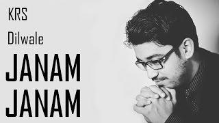Janam Janam Karaoke Original Quality | DILWALE | Arijit Singh | KRS