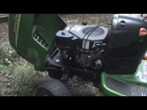 John Deere L110 Charging System Repair Re Uploaded Youtube