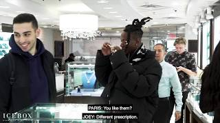 Brooklyn's Finest: Joey Bada$$ Hits ICEBOX To Cash Out On New Jewelry!
