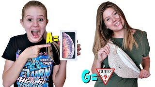Buying EVERYTHING In Alphabetical Order Challenge || Taylor & Vanessa