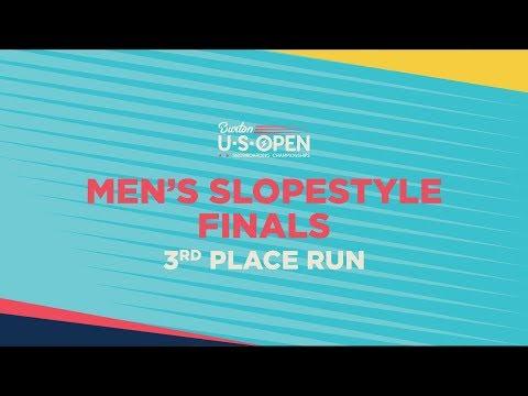 2019 Burton U·S·Open Men?s Slopestyle Finals ? 3rd Place Run