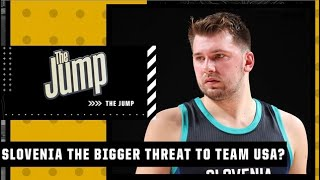 France or Slovenia: Who is the bigger threat to Team USA?   The Jump
