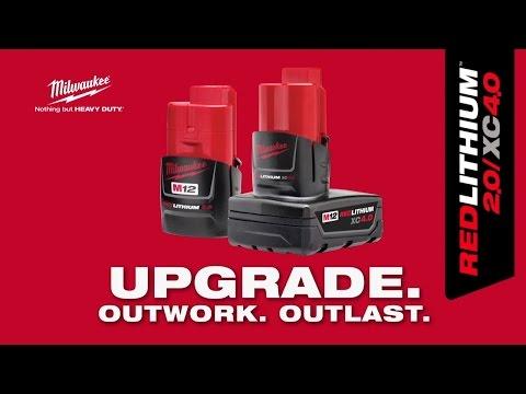 Milwaukee 12v Battery M12B2 2.0Ah Li-on