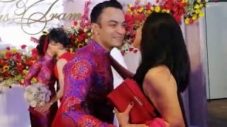 Đám cưới Võ Hạ Trâm tối14/1: Cô dâu chú rể cười rạng rỡ, hạnh phúc đón dàn khách mời VIP