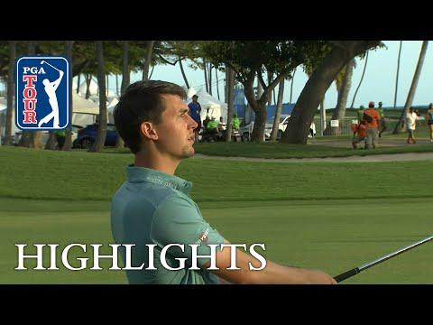 Ollie Schniederjans extended highlights | Round 3 | Sony Open