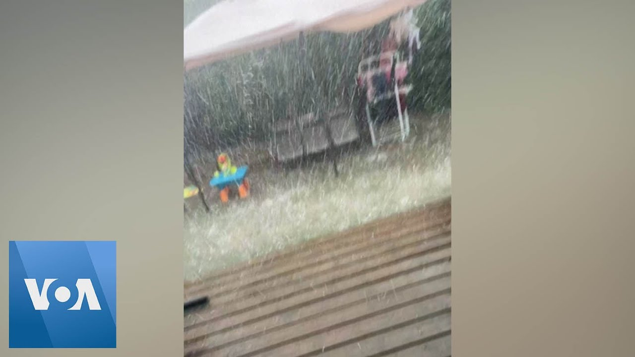 Footage Shows Violent Rain, Winds in Flood-Stricken Southern France