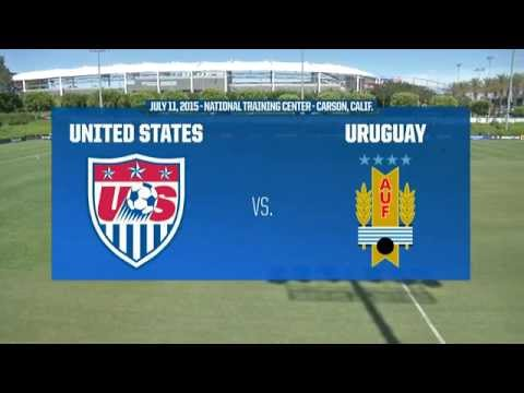 Under-18 NTC Invitational: USA vs. Uruguay - July 11, 2015