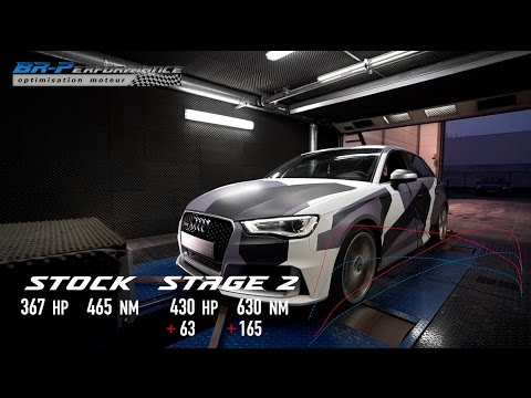 Audi RS3 2.5 TFSi 8V Stage 2 By BR-Performance