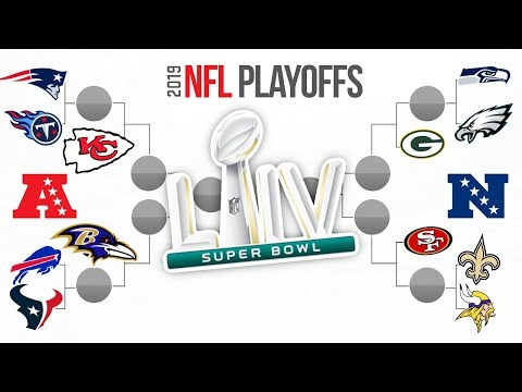 2020 NFL PLAYOFF PREDICTIONS! Super Bowl 54 Winner & FULL PLAYOFF BRACKET PREDICTIONS!