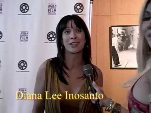 Diana Lee Inosanto at the L.A. Asian Pacific Film Festival 2010