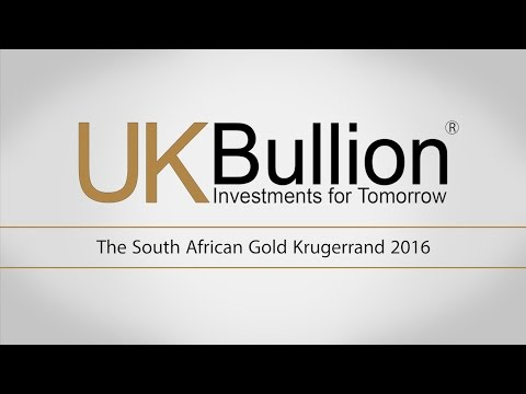 The South African Gold Krugerrand 2016