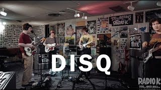 "Disq - ""Daily Routine"" (Live on Radio K)"