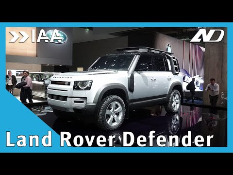 Land-Rover Defender 2020: ya no es lo mismo - IAA2019