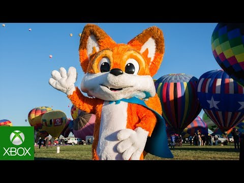 Super Lucky's Tale Hot Air Balloon World Record Highlights