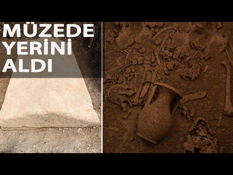Bodrum'da 2 Bin 400 Yıllık Lahit Müzede Yerini Aldı