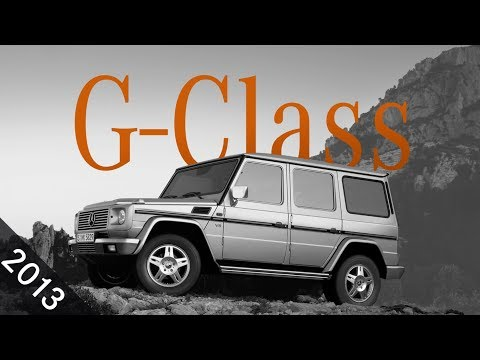 Top 10 G-Class Moments: The 6x6 is here | 2013
