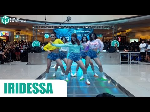 160417 Iridessa as Red Velvet at the 2016 Kpop Cover Dance Festival - Manila