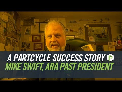 """Says Mike Swift, ARA President 2015-2016: """"As a professional automotive recycler since 1979, what I want to do is sell more parts. And PartCycle is offering a flawless way to sell parts online. Not only that, but they're promoting quality in the industry by upholding the standards ARA's qualifications require."""""""
