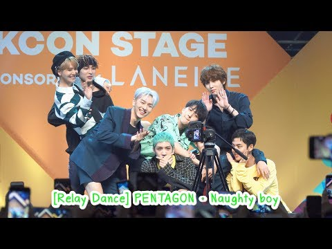 180930 [Relay Dance] PENTAGON - Naughty boy @ [KCON 2018 THAILAND] STAR Live Talk X M2