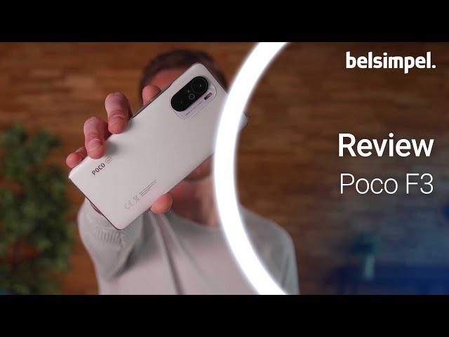 Belsimpel-productvideo voor de Poco F3 128GB Zwart