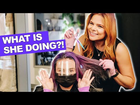 I Let A Subscriber Dye My Hair! (New Colour)