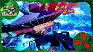 PIMP MY BASE ! Rust Raiding, PvP Highlights & rust base design