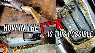 Complete Disaster Full Interior Car Detailing Transformation! DEEP CLEANING The Nastiest Car Ever!