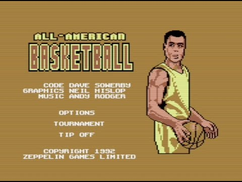 RETROJuegos Clásico - All American Basketball 1992 Zeppelin Games - Commodore 64