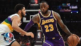 LeBron James' clutch finish leads Lakers past Anthony Davis and the Pelicans | NBA Highlights