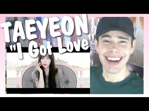MV Reaction l TAEYEON 태연_I Got Love
