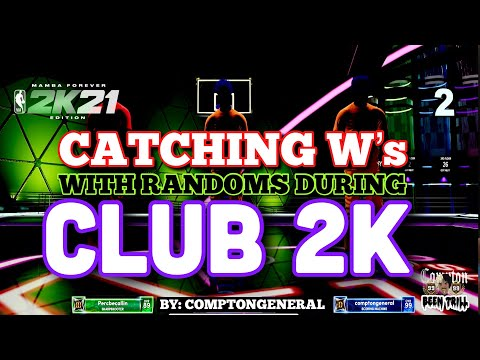 """NBA 2K21 CATCHING W'S WITH RANDOMS😅🔥 ON NEXT GEN! ALL NEW """"CLUB 2K EVENT"""" PARK GAMEPLAY 💯"""