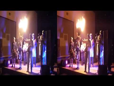 The Burning Band with Flaming Sousaphone (YT3D:Enable=True)