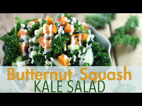 Fall Detox Kale Salad | EASY & HEALTHY Recipes