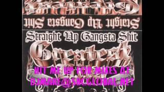 "Straight Up Gangsta Shit ""GREATEST HITS"" - Chicago Rap Mix - Chitown - Underground Rap"