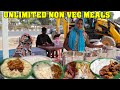 Hardworking Sisters Selling Unlimited Non Veg Meals | Street Food India | #AuntyFood | Food Bandi