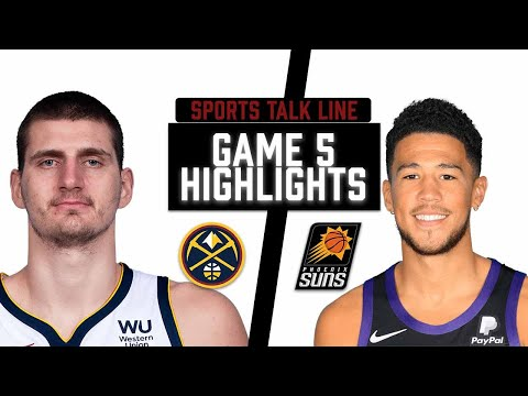 Nuggets vs Suns HIGHLIGHTS Full Game    NBA Playoffs Game 2