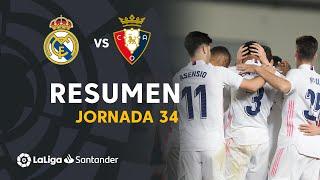 Resumen de Real Madrid vs CA Osasuna (2-0)