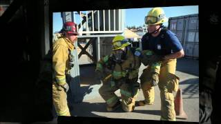 Firefighter cadets put to the test