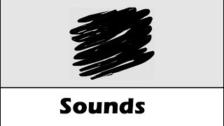 Scribble Sound Effects All Sounds